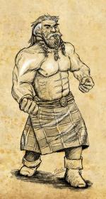 Nain gladiateur